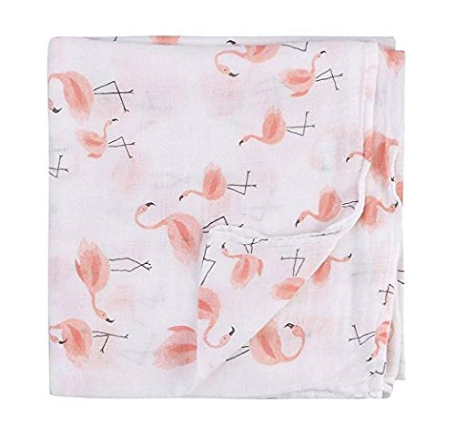 Emma Grace Shoppe - Flamingo Swaddle Blanket
