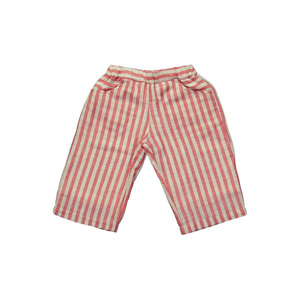 Mademoiselle a SOHO - Red stripes Bermuda Short