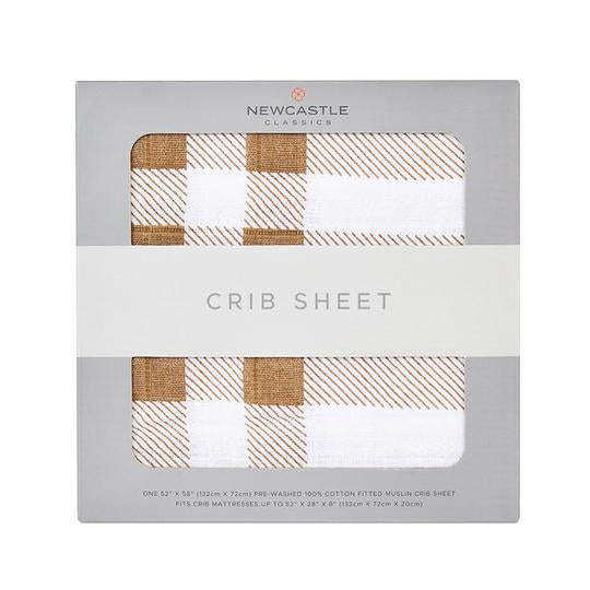 Newcastle Classics - Plaid Crib Sheet