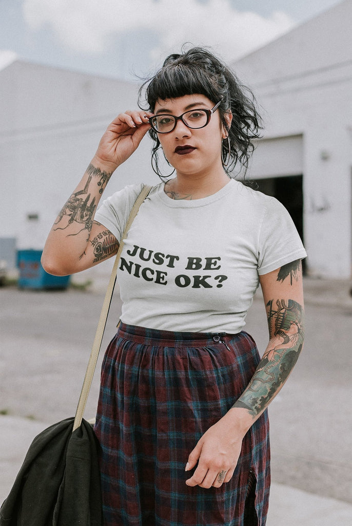 Brave Girl Club - Just Be Nice Ok Graphic Tee