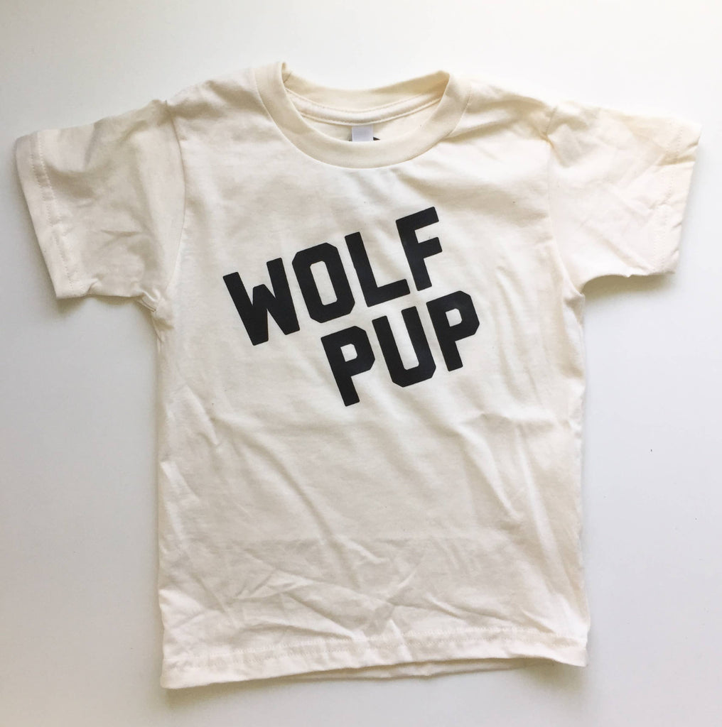 Savage Seeds- Wolf Pup Kids Tee