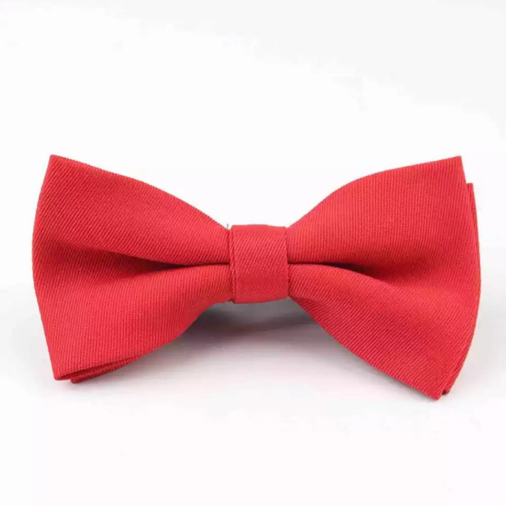 Tiny Trendsetter - Kids Red Bowtie (6 Months - 12 Years)