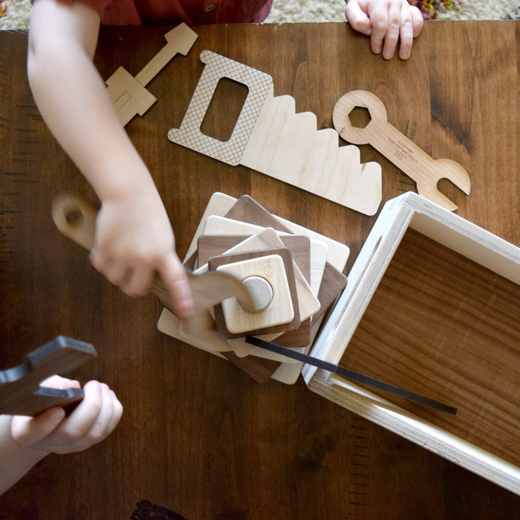 Little Sapling Toys - Wooden Tool Set Toy