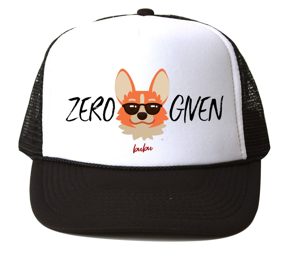 Bubu - Zero Fox Given Black/White Trucker Hat