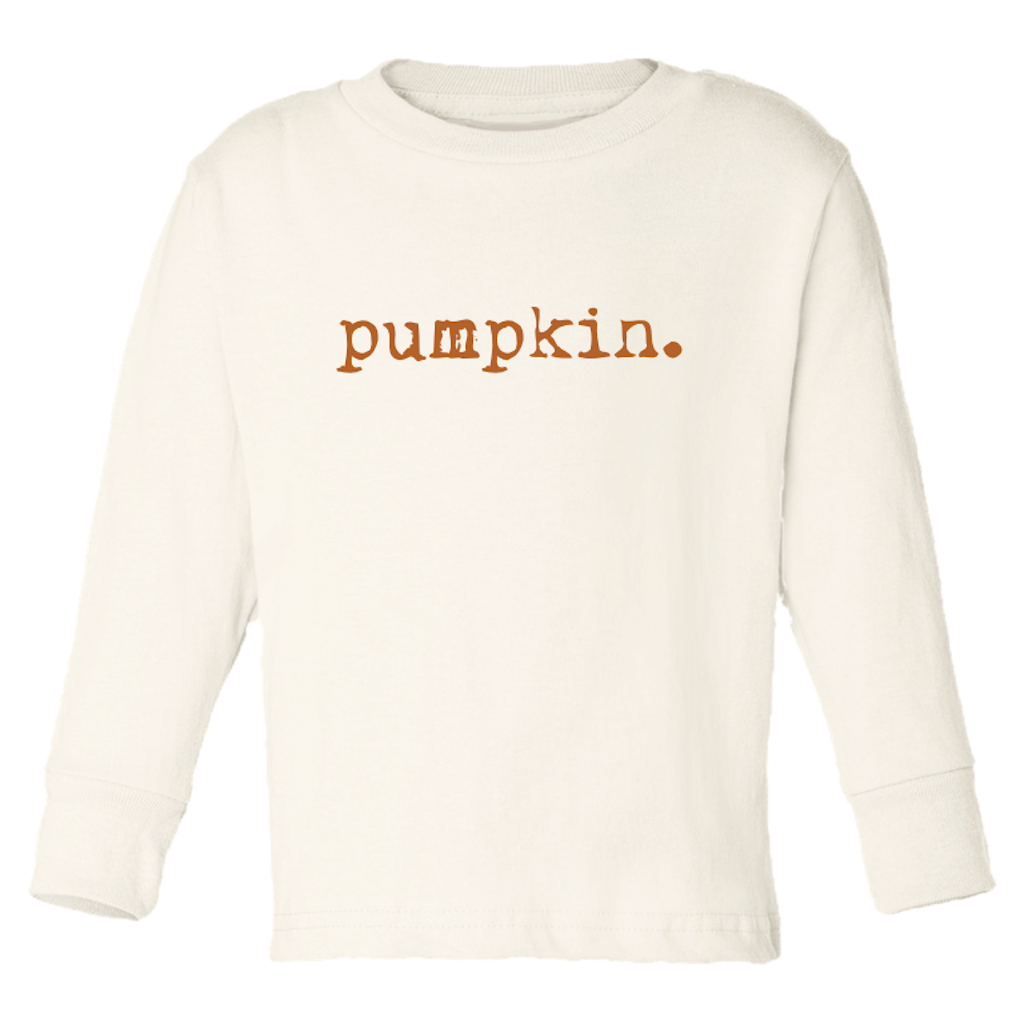 Tenth & Pine - Pumpkin Long Sleeve Tee