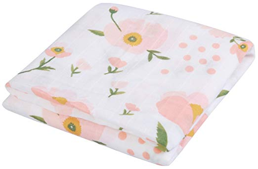 Emma Grace Shoppe - Floral Swaddle Blanket