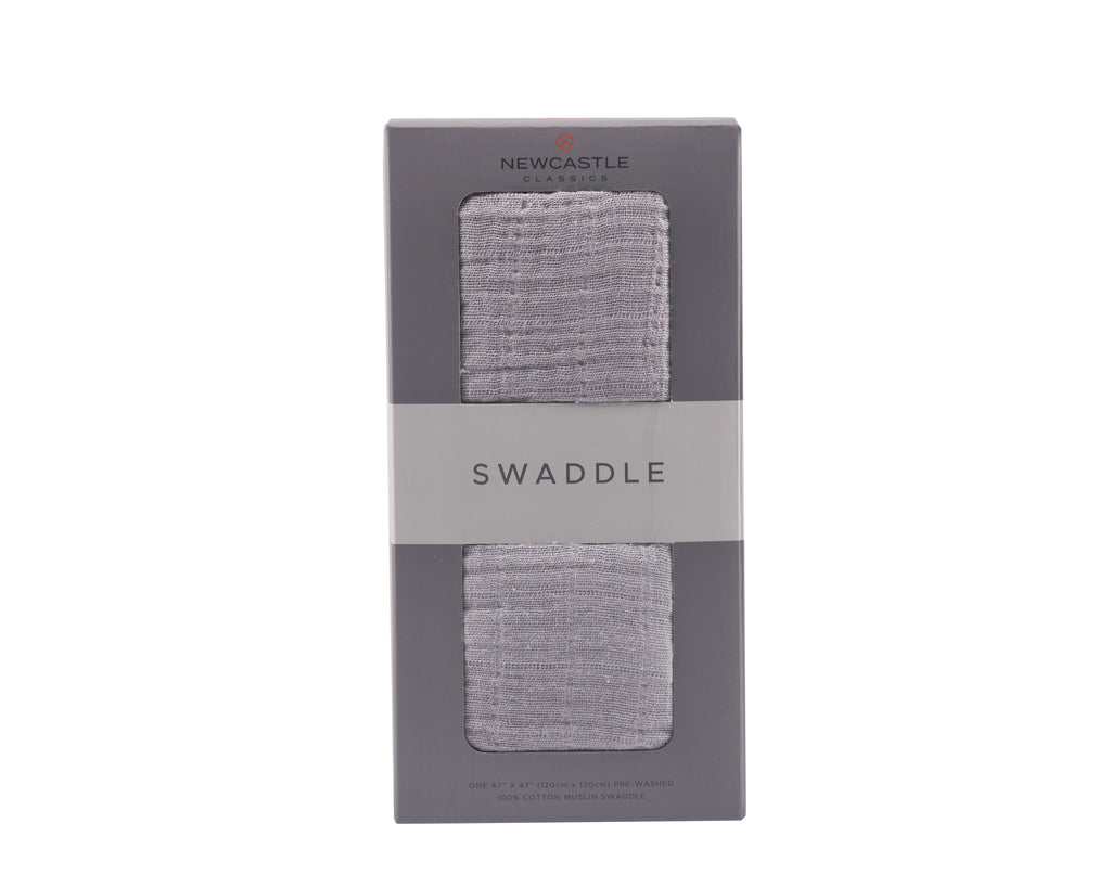 Newcastle Classics - Cool Grey Swaddle