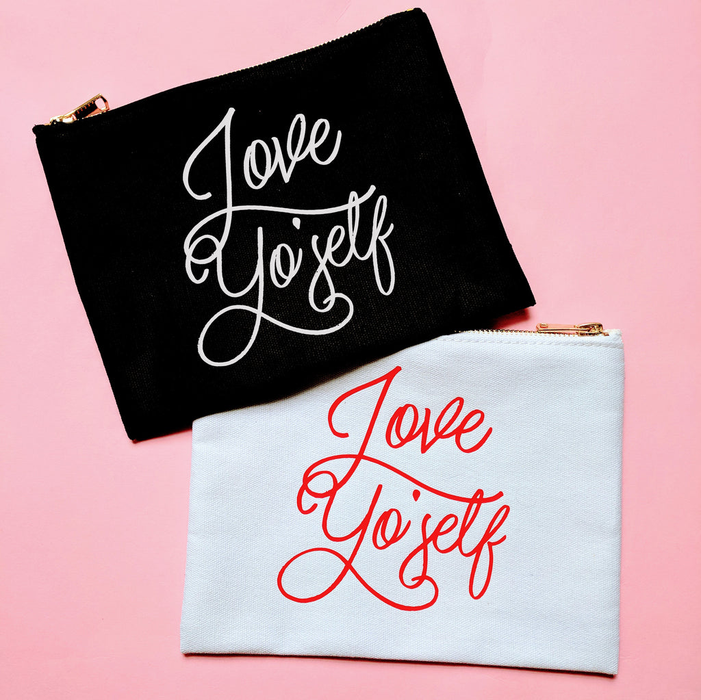 Love Frankie Studio - Love Yo'Self Cosmetic Bag