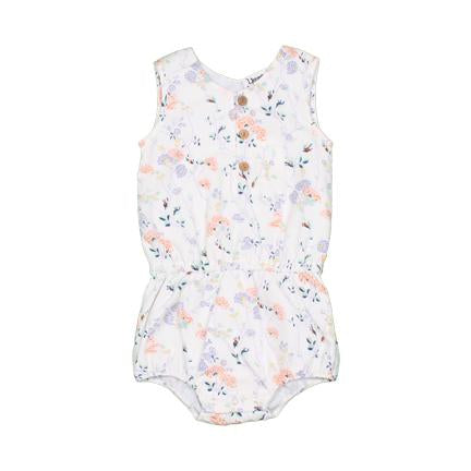 Young and Free Apparel - Wild Flower Baby Romper