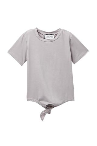 Young and Free Apparel - Grey Tie Tee