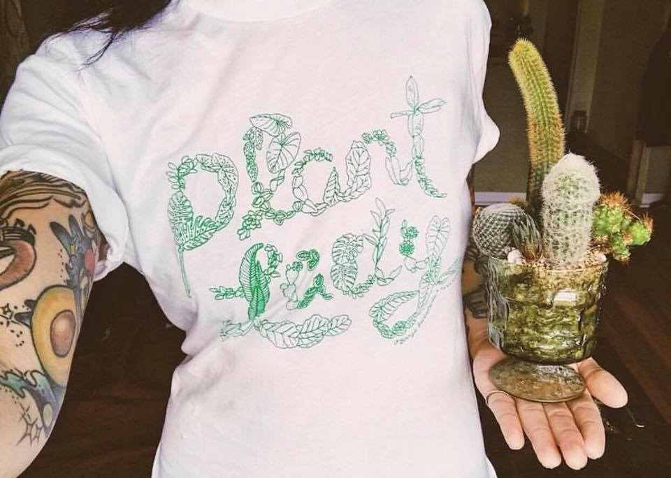 O'Berry's Succulents - Plant Lady Tee