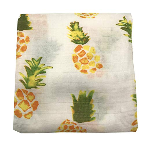 Emma Grace Shoppe - Pineapple Swaddle Blanket