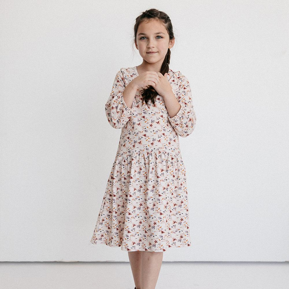 Alice + Ames- THE BETTE DRESS IN FALL FLORAL