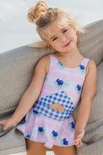 Blueberry Bay - Blue Pearl Cottage One Piece Swimsuit