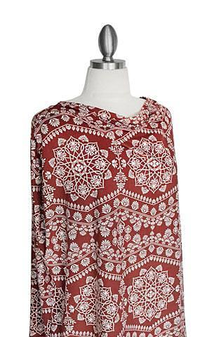 MARSALA MANDALA- Multi-use Nursing Cover