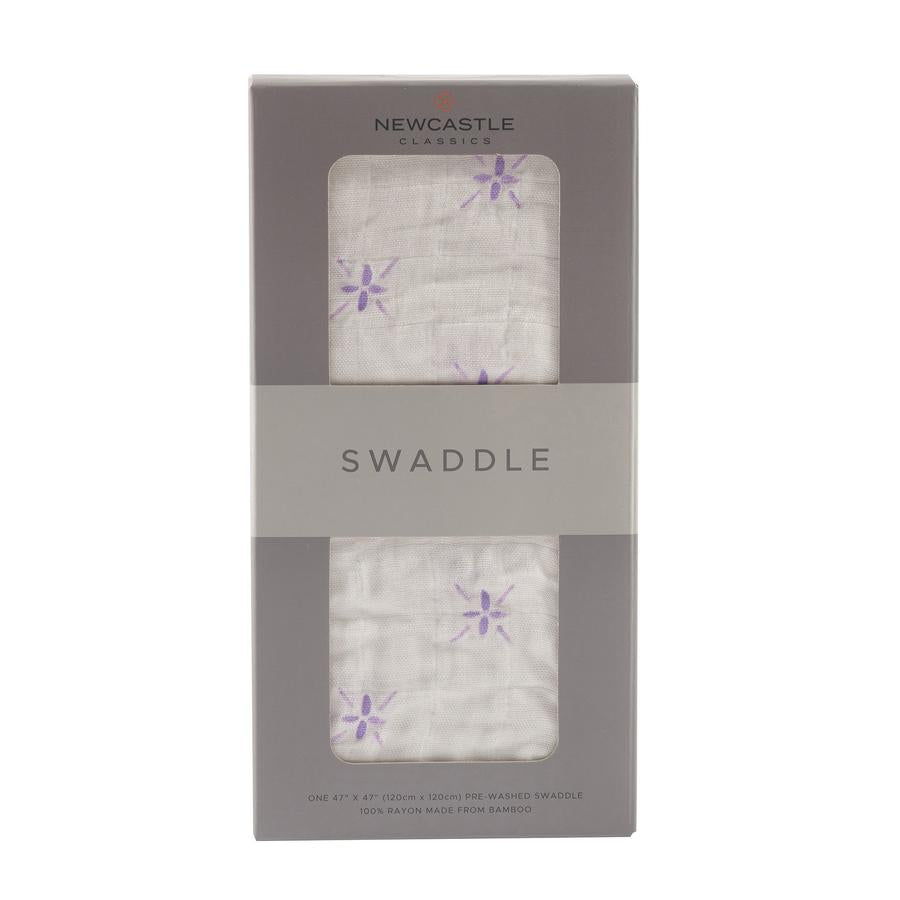 Newcastle Classics - Watercolor Star Swaddle