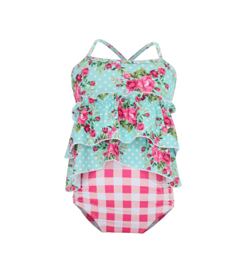 Blueberry Bay - Caretta Cottage Tankini Set