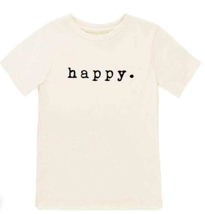 Tenth & Pine - HAPPY - ORGANIC TEE