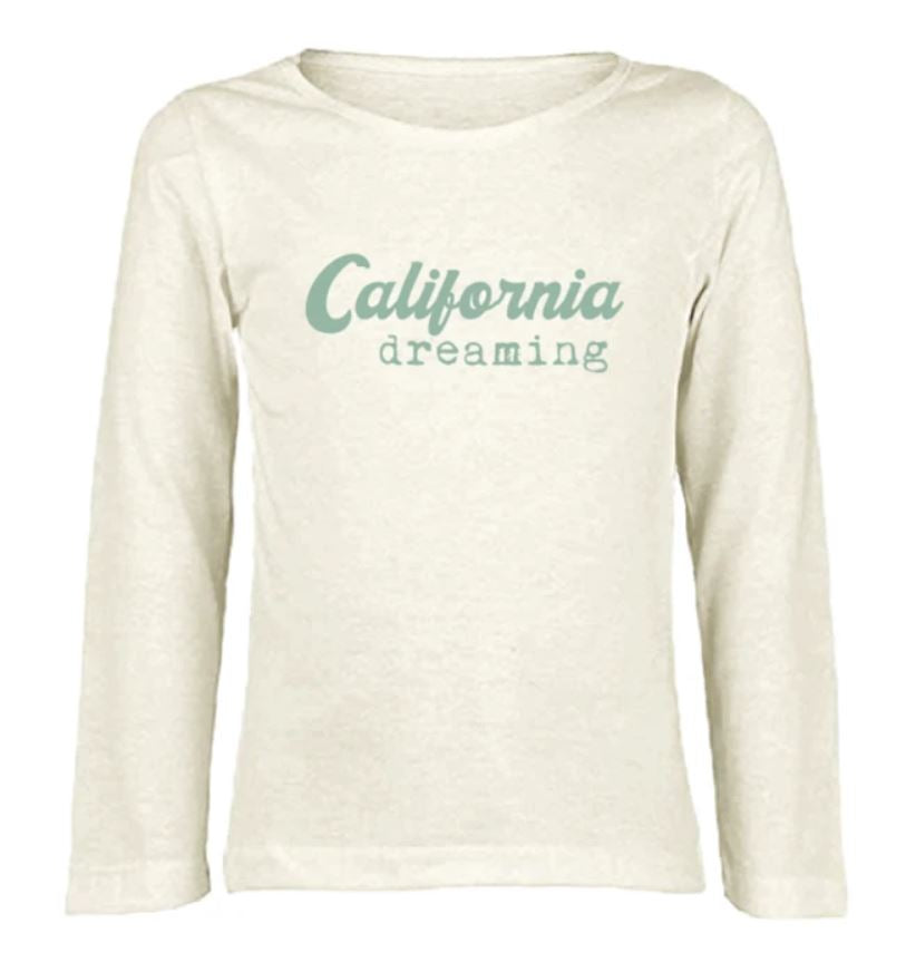 Tenth & Pine - CALIFORNIA DREAMING  - ORGANIC LONG SLEEVE TEE