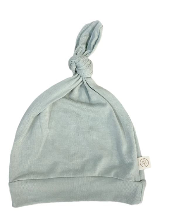 Tenth & Pine -BAMBOO BABY TOP KNOT HAT|  Sage