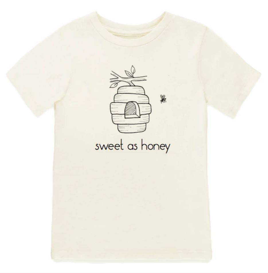 Tenth & Pine - SWEET AS HONEY BEEHIVE - ORGANIC TEE