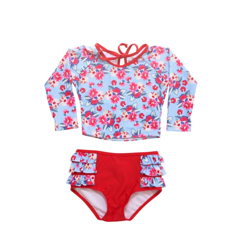 Blueberry Bay - Reef Fiddler Two Piece Swimsuit