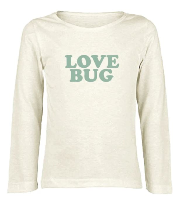 Tenth & Pine - LOVE BUG  - ORGANIC LONG SLEEVE TEE
