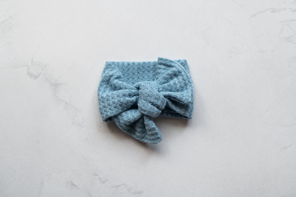 Emma Grace Shoppe- Handmade Bow knot - Textured