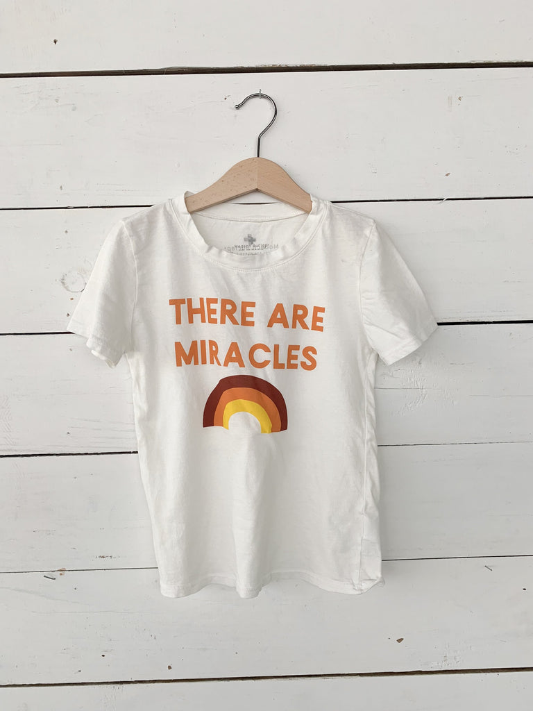 Modern Burlap-THERE ARE MIRACLES - KID'S CREWNECK TEE