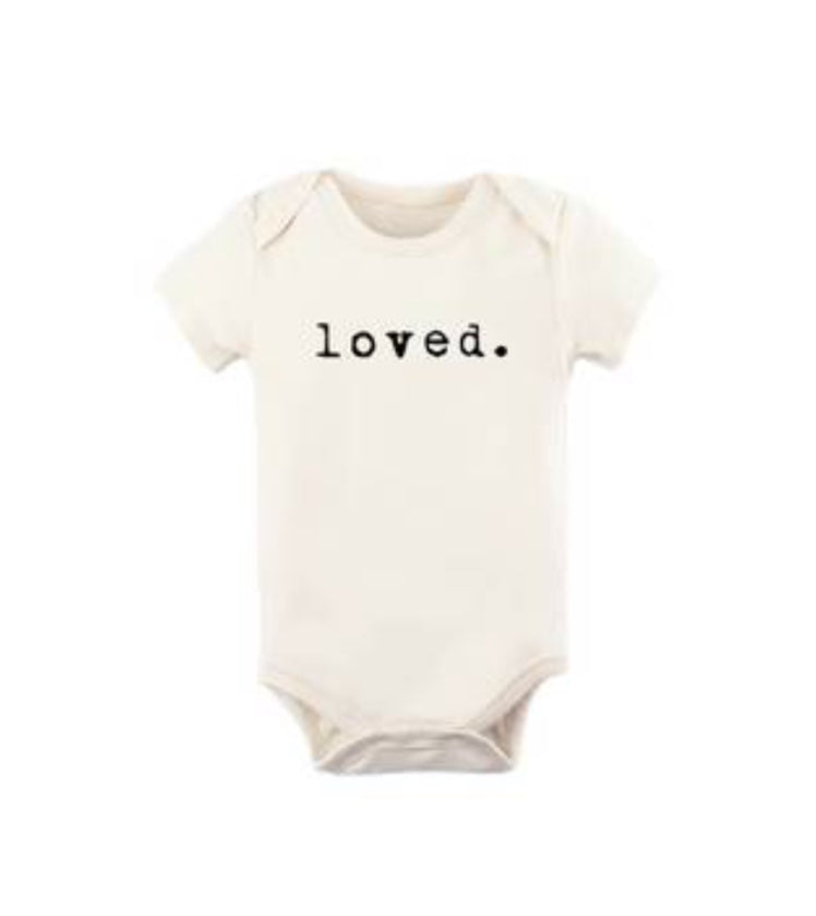 Tenth & Pine - Loved Short Sleeve Onesie