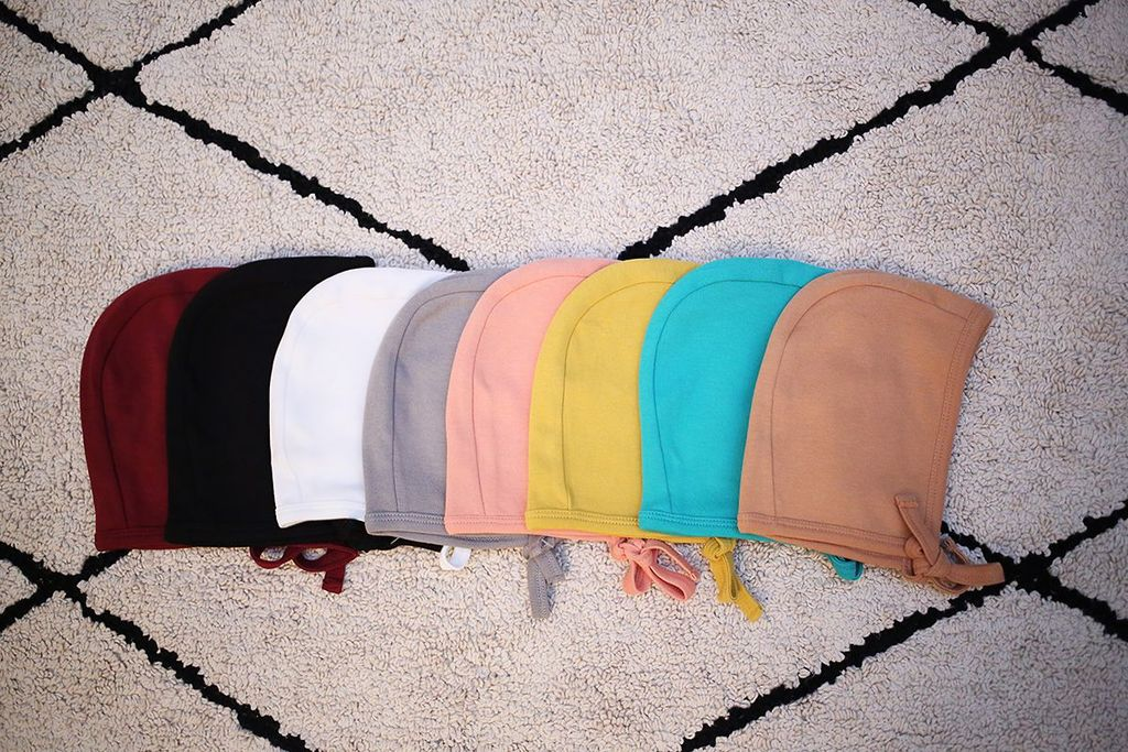 ORGANIC BONNET - SOLID COLORS