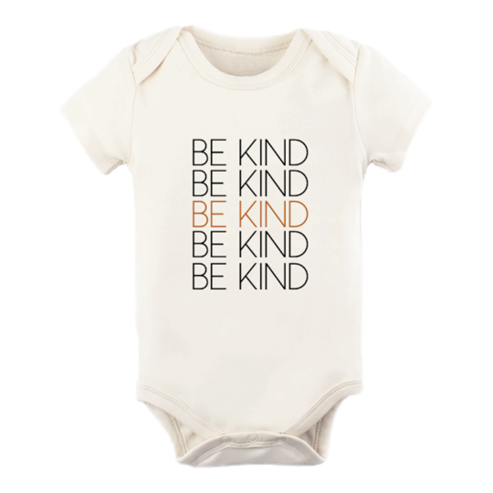 Tenth & Pine - BE KIND - ORGANIC BODYSUIT