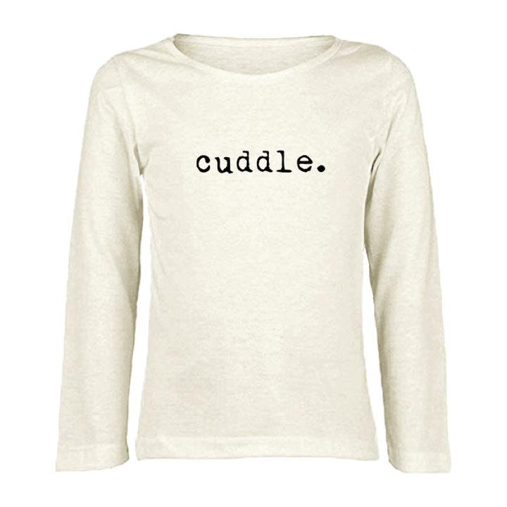 Tenth & Pine - CUDDLE - ORGANIC LONG SLEEVE TEE