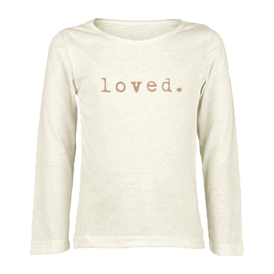 Tenth & Pine - LOVED - ORGANIC LONG SLEEVE TEE | Clay