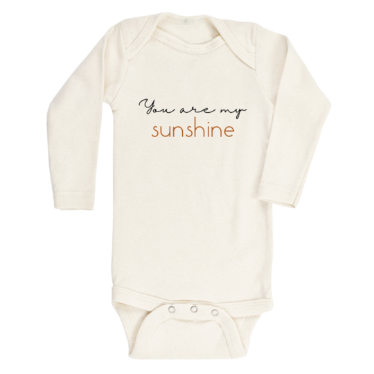 Tenth & Pine - YOU ARE MY SUNSHINE - ORGANIC BODYSUIT - LONG SLEEVE