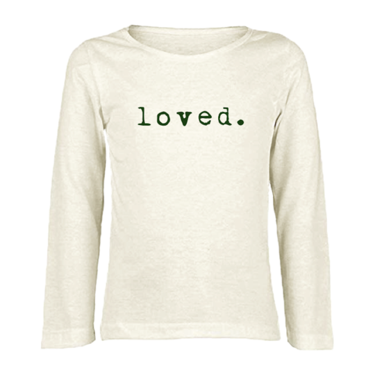 Tenth & Pine - LOVED - ORGANIC LONG SLEEVE TEE | Olive