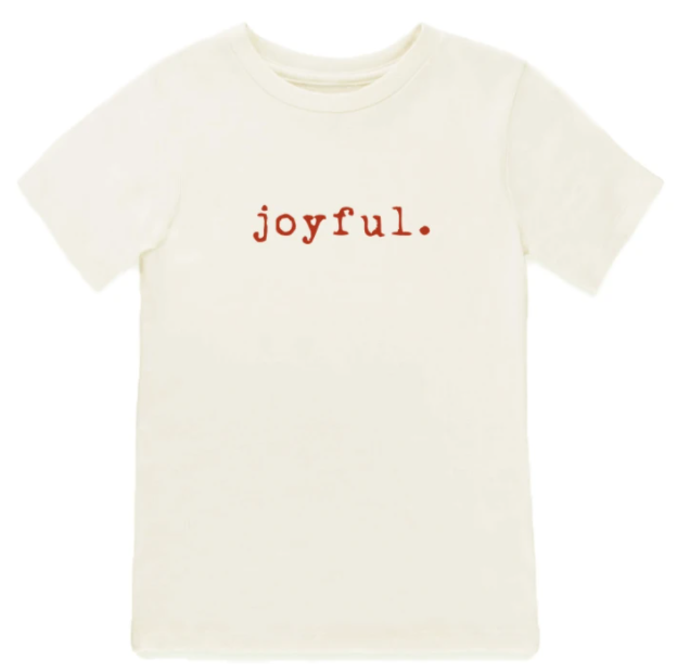 Tenth & Pine - JOYFUL - ORGANIC TEE