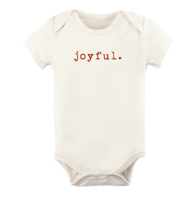 Tenth & Pine - JOYFUL - ORGANIC BODYSUIT