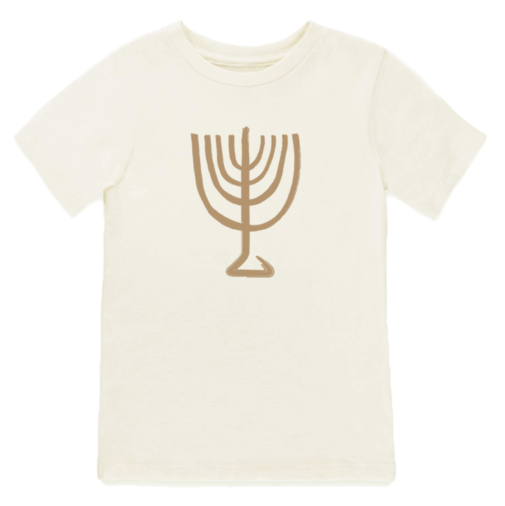 Tenth & Pine - MENORAH - ORGANIC TEE