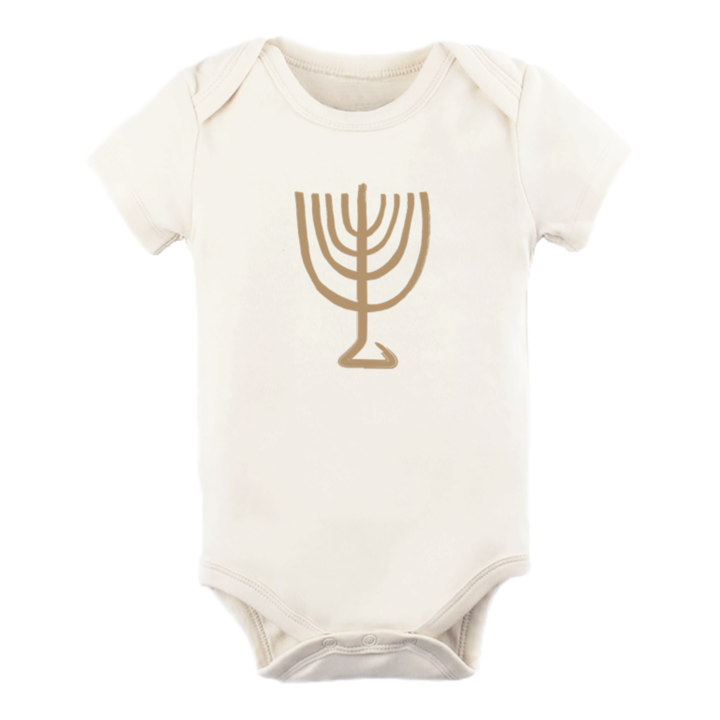 Tenth & Pine - MENORAH - ORGANIC BODYSUIT