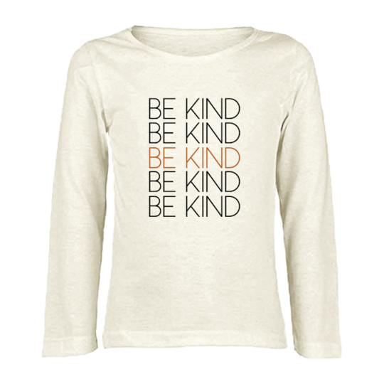 Tenth & Pine - BE KIND - ORGANIC LONG SLEEVE TEE