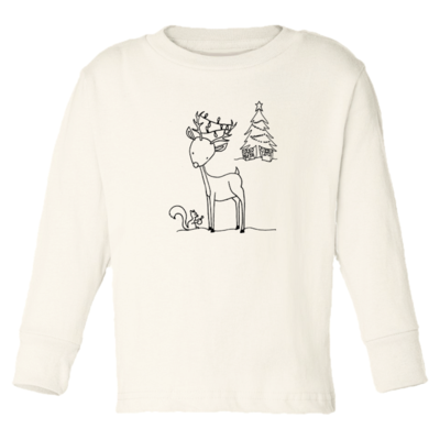 Tenth & Pine - Christmas Reindeer // Long Sleeve Tee