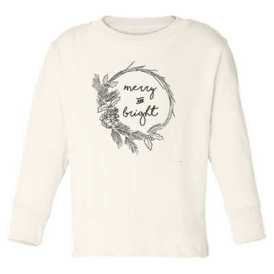 Tenth & Pine - Merry and Bright // Long Sleeve Tee