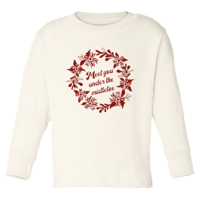 Tenth & Pine - Meet You Under the Mistletoe // Long Sleeve Tee