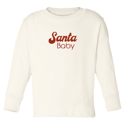 Tenth & Pine - Santa Baby // Long Sleeve Tee
