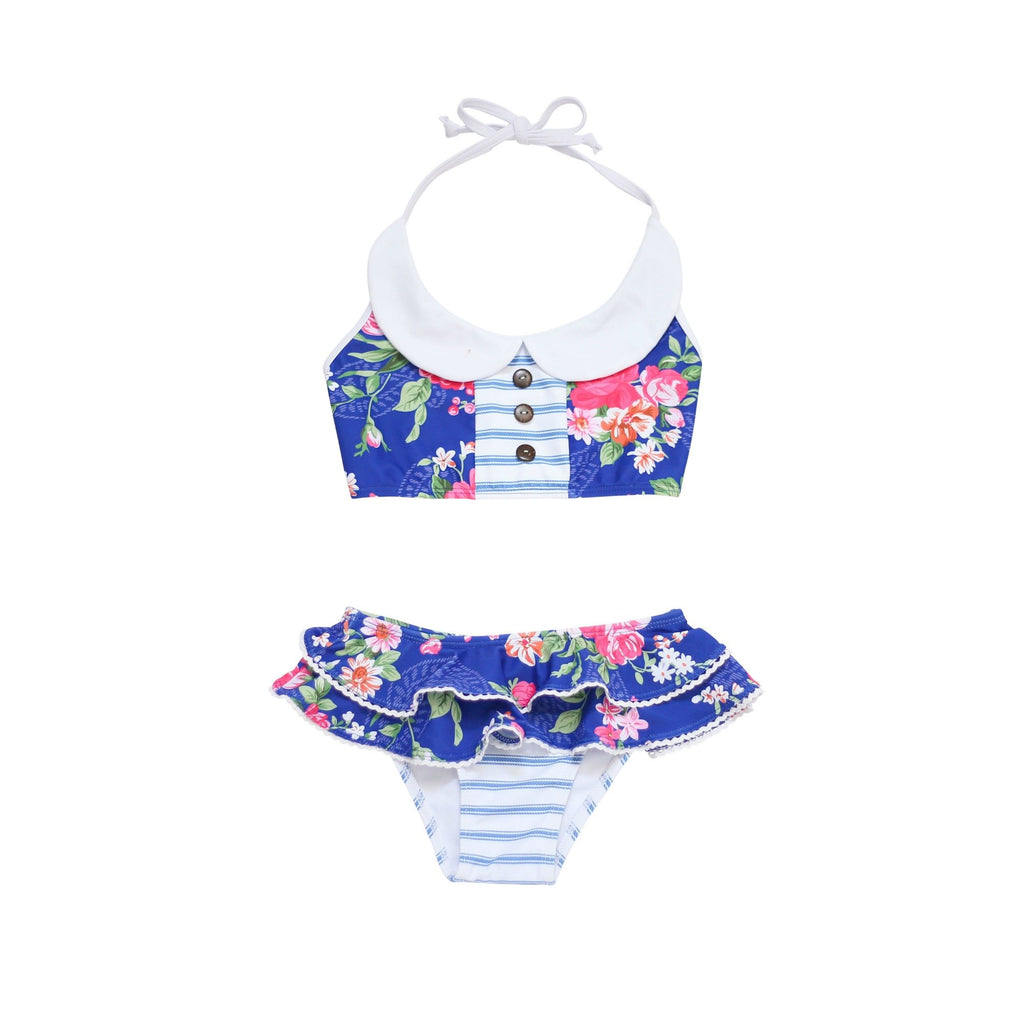Blueberry Bay - Primrose Croft Two Piece Swimsuit