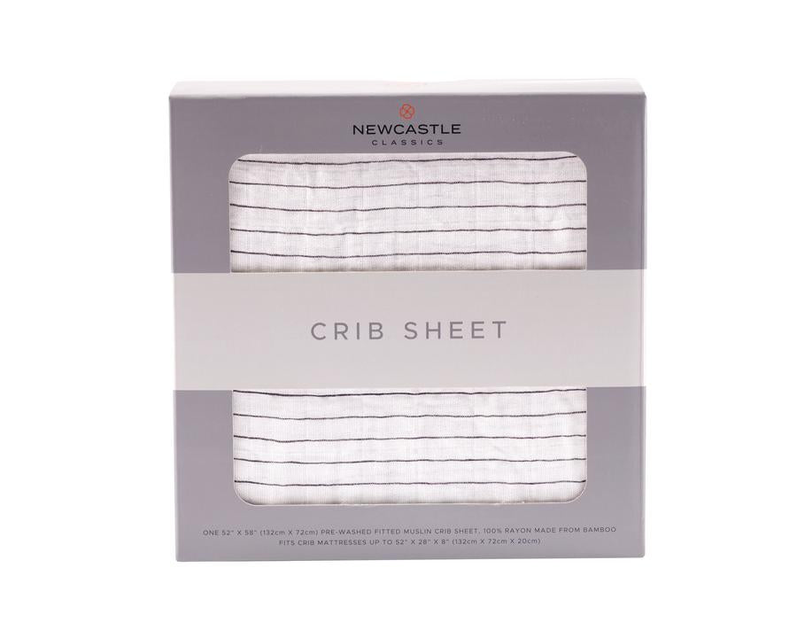 Newcastle Classics - Pencil Stripe Crib Sheet