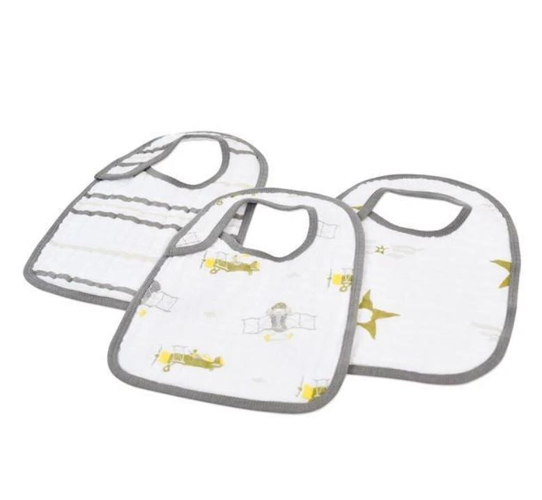 New Castle Classics - In the Sky Snap Bibs Set of 3