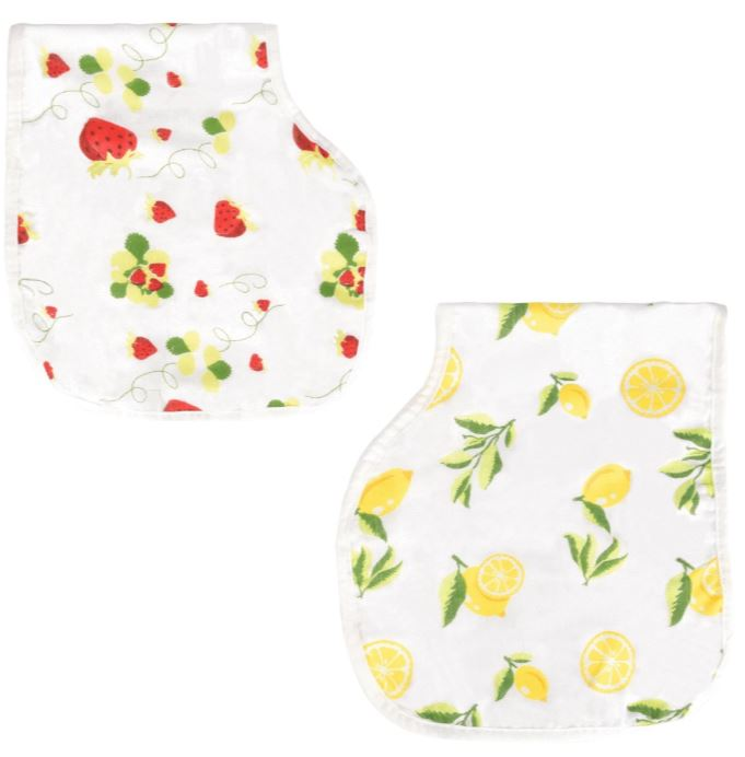 Bambi Bamboo - Bamboo Cotton Muslin Burp Cloth Bib Set