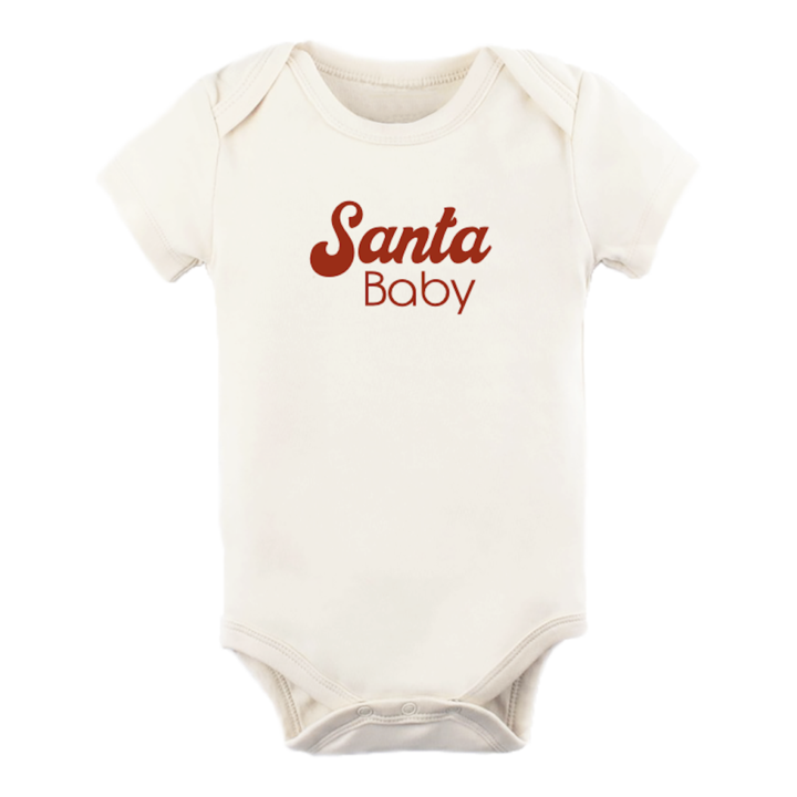Tenth & Pine -  SANTA BABY - ORGANIC BODYSUIT - Short Sleeves